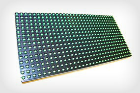 Монохромный модуль P-10 зеленый