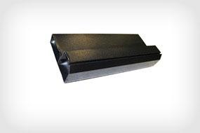 Профиль алюминиевый черный (40х90) 1 п.м.