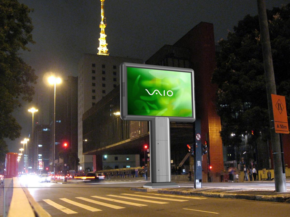 LED экраны для наружной рекламы